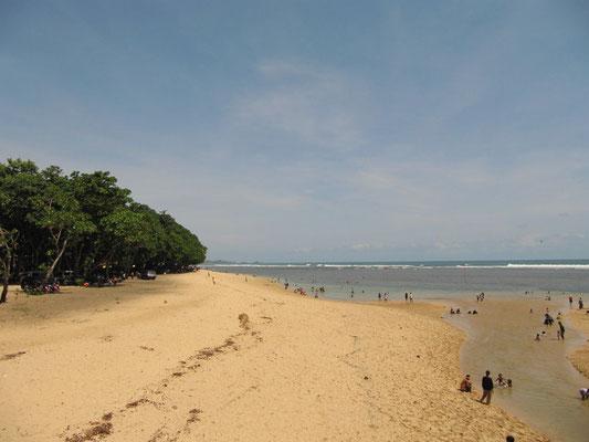 Der Strand.