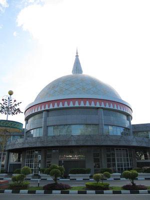 """Das """"Royal Regalia Museum"""". Definitiv einen Besuch wert, zumal der Besuch aller Museen Bandars kostenlos ist."""