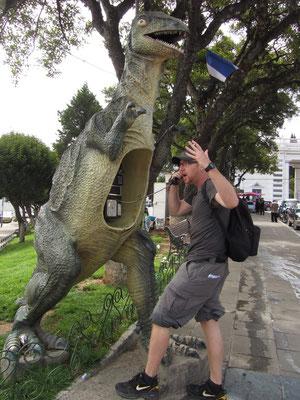 Dino talk.