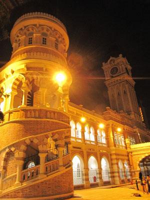 Das Sultan Abdul Samad Gebäude.