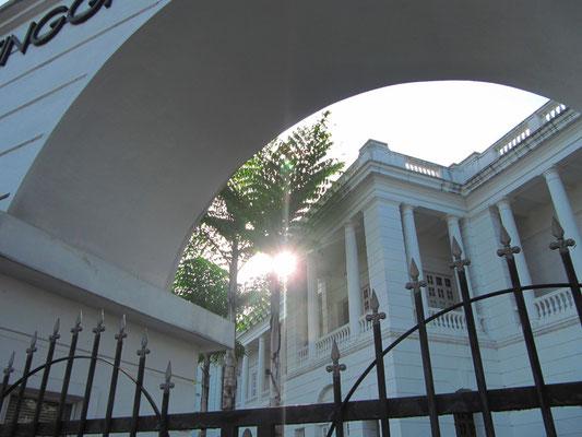 Das Gerichtsgebäude.