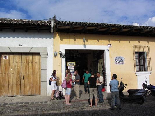 Eine der vielen, beliebten Sprachschulen der Stadt.
