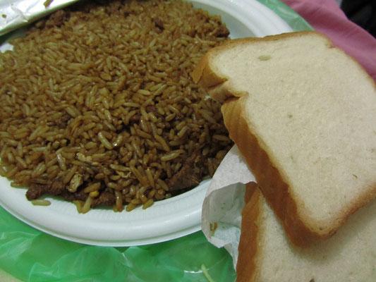 Gebratener Reis mit Toast! Wtf?!
