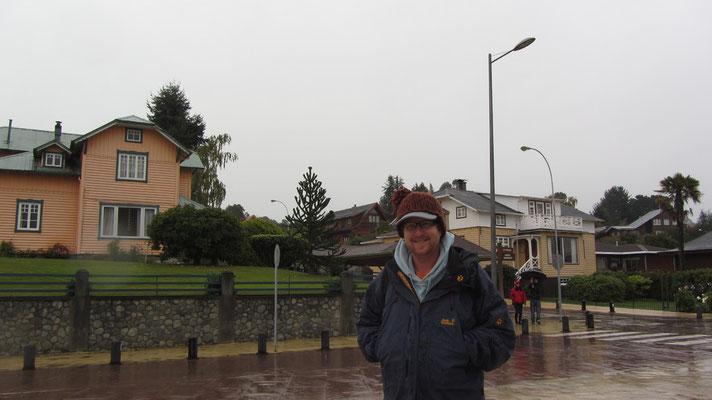 Viel Regen in Klein-Deutschland.