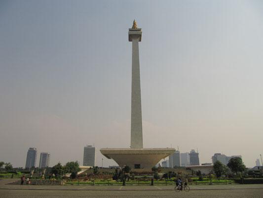 Monas - Nationalmonument und Jakartas Wahrzeichen.
