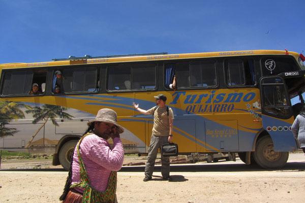 Unser Bus, unsere Freunde.