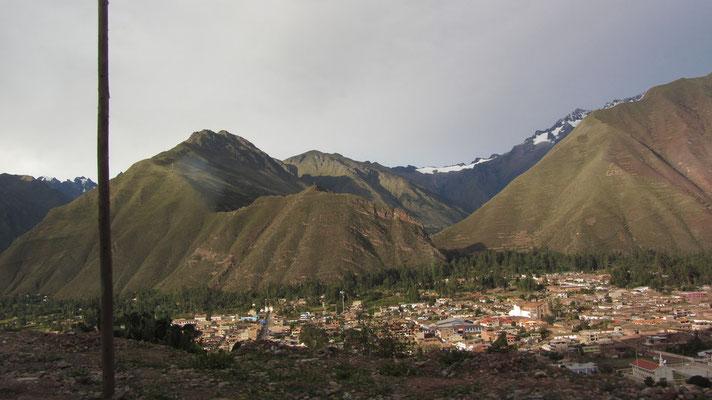 Auf dem Rückweg nach Cusco.