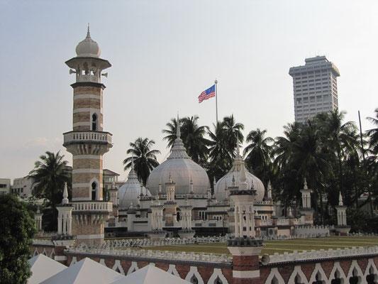 Die Masjid Jamek (Freitagsmoschee).