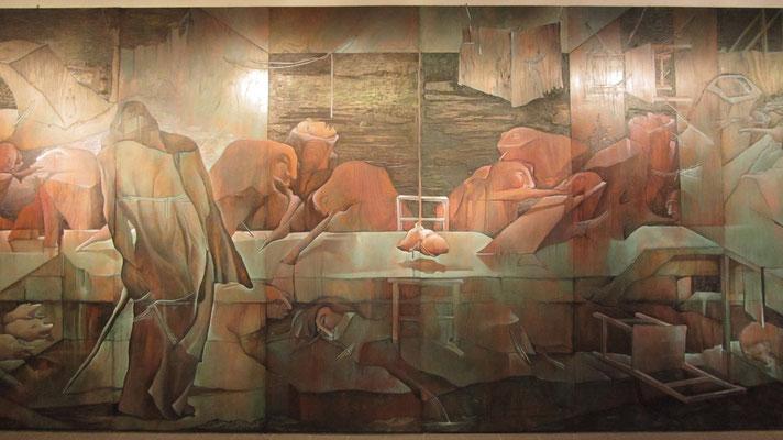 Das letzte Abendmahl. (Museo del Barro)