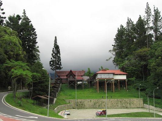 Auffahrt zum Eingamngsbereich des Mt. Kinabalu.