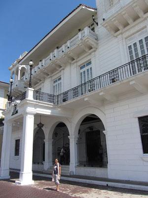 Sitz des Präsidenten. (Casco Antiguo)