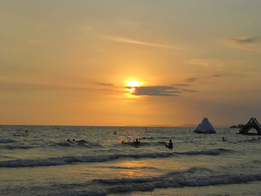 Sonnenuntergang am Ochheuteal Beach.
