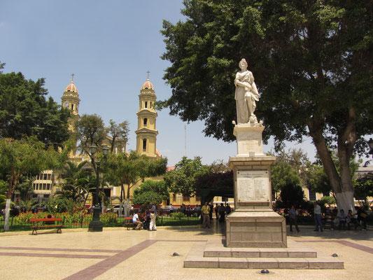 Plaza de Armas de Piura.