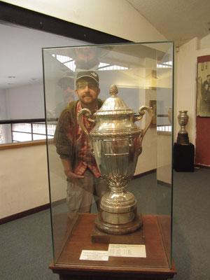 Das Stadium besitzt ein interessantes Museum zur Geschichte des urugayischen Fußballs. Sämtliche Pokale und Trophäen werden ausgestellt.