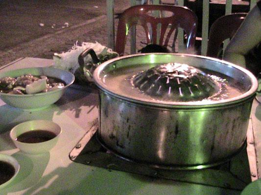 Koreanisches/Laotisches BBQ.