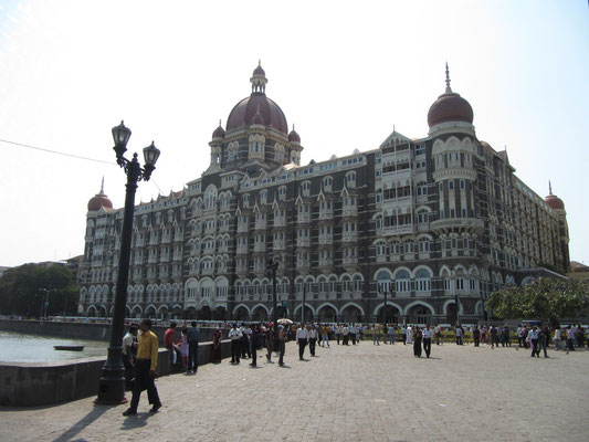 Das berühmte Taj Mahal Hotel.