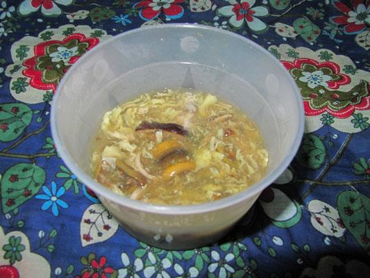 Aal-Eier-Suppe.