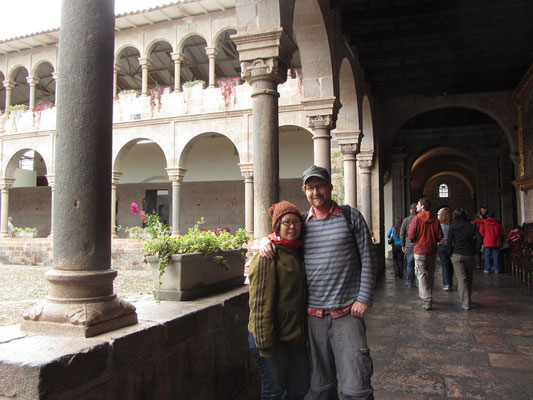 Im Convento de Santo Domingo.