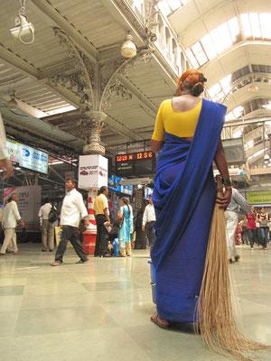 Im Chhatrapati Shivaji Terminus.