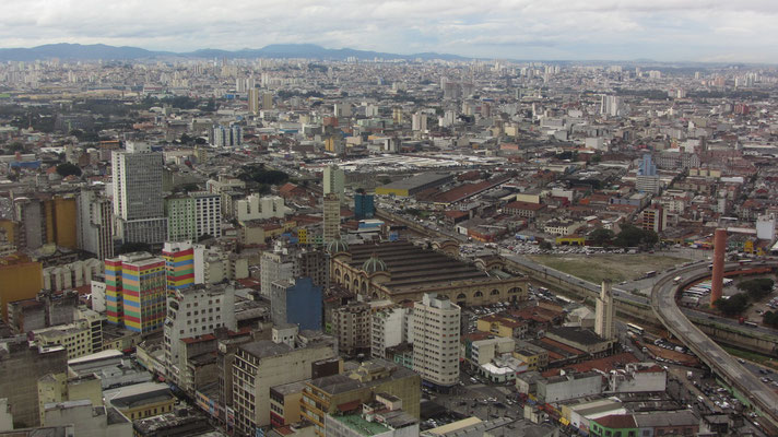 Blick vom Edifìcio Altino Arantes (Banespa-Building).