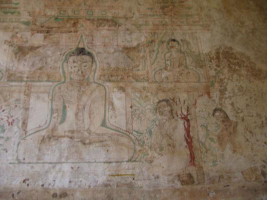Wandmalereien. (Sulamani Pahto)
