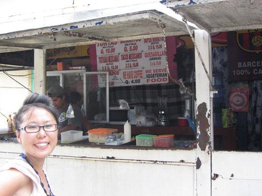 Oft waren wir an den günstiegnFastfoodständen am Parque Central. Die Preise für die Combos waren unschlagbar.