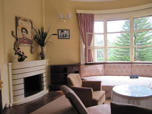 Entspannungszimmer der Familie. (Bao Dais Sommerpalast)