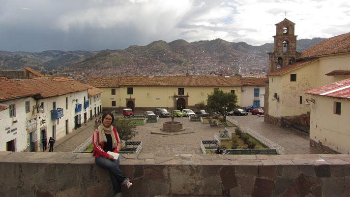 Blick vom Viertel San Blas auf die Stadt.