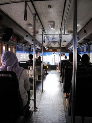 Öffentlicher Aircon-Bus.