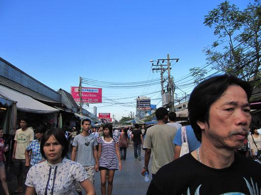 Der Größte Wochendmarkt der Welt: Chatuchak.