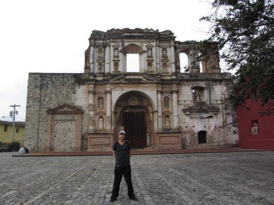 Antigua ist auch eine Ruinenlandschaft.
