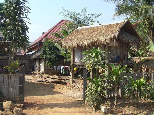 Typisches Dorfhaus.