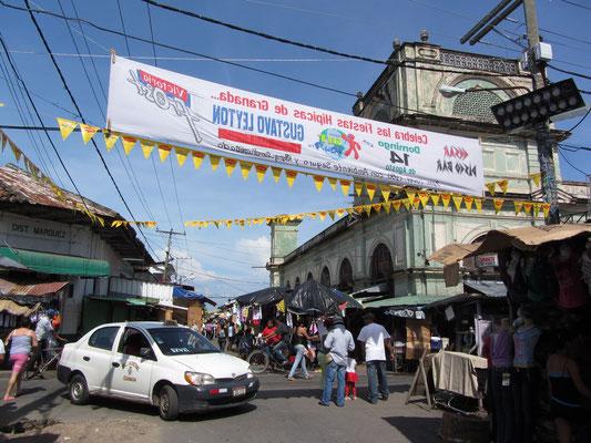Granadas Hauptmarkt.