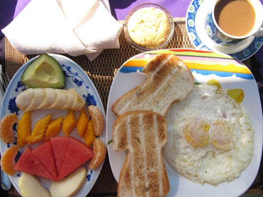 Frühstücke wie ein König...