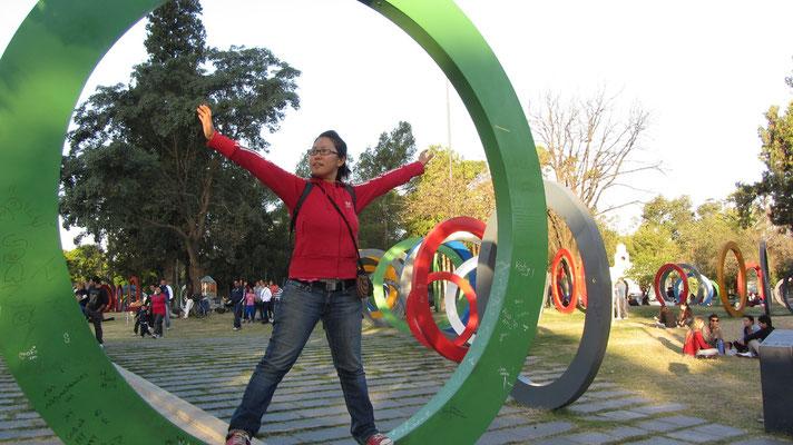 Der Parque Sarmiento ist Córdobas zentralster und bei der Bevölkerung beliebtester Park.