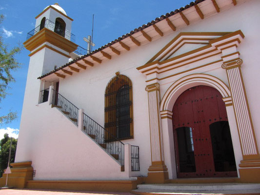 Die Kirche auf dem Cerro de Guadalupe.