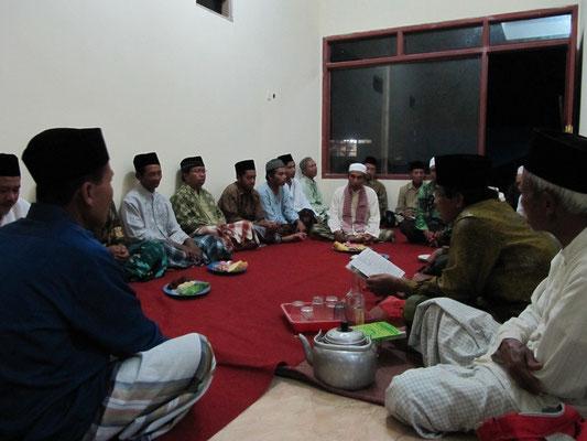 Hauseinweihung nach südjavanesisch-muslimischem Brauchtum.