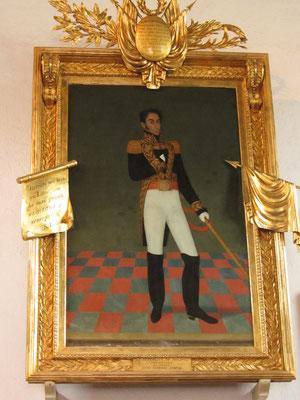 Simon Bolivar mochte angeblich dieses Paorträt von ihm am meisten.