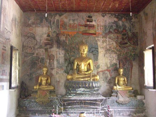 Das Tempelinnere.