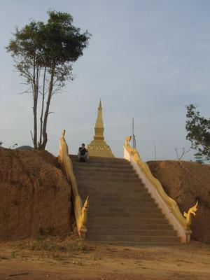 Tempeltreppe.