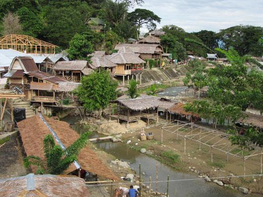 Bukit Lawang in seiner vollen Pracht und Schönheit.