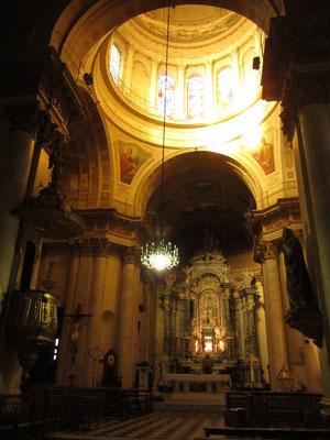 In der Kathedrale Nuestra Señora del Rosario. Rosario ist Sitz des römisch-katholischen Erzbistums Rosario.