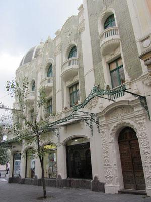 Viele Fassaden wurden aufwendig renoviert.