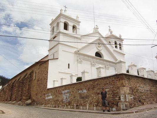 Die Kirche la Recoleta.