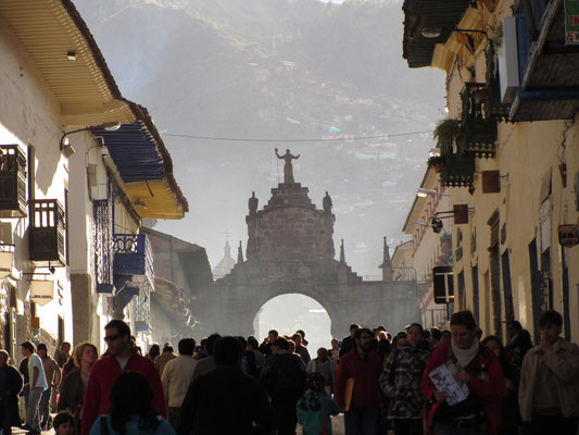 In Cusco ist immer was los.