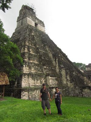 Teamtour vor Templo I.