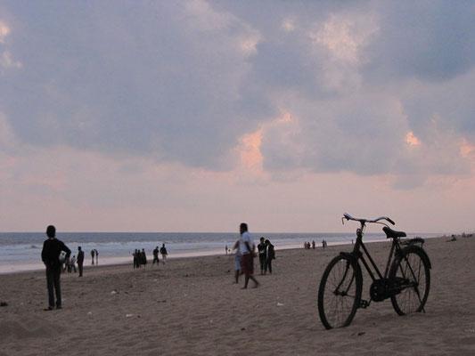 Puris Strand am Abend.