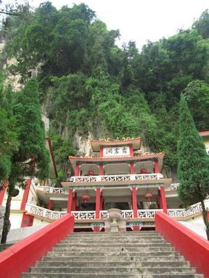 Eingang zum Perak Tong Tempel Komplex. (6km nördlich von Ipoh)