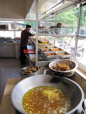 Ein Padang-Restaurant.