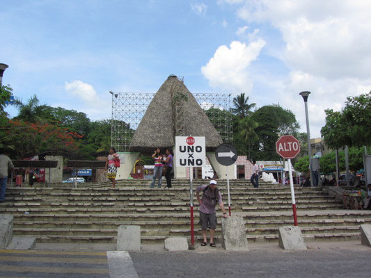 Der Parque Central. (Palenque)